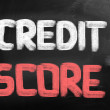 Stock Photo: Credit Score Concept