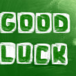 Good Luck Concept — Foto Stock