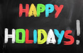 Happy Holidays Concept — Stock Photo