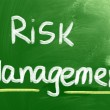 Risk Management Concept — Stock Photo