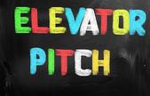 Elevator Pitch Concept — Stock Photo