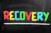 Recovery Concept — Stock Photo