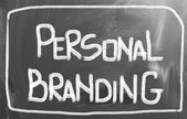 Personal Branding Concept — Stock Photo