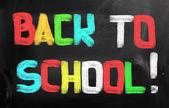 Terug naar school concept — Stockfoto