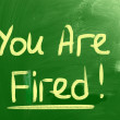 You Are Fired Concept — Stock Photo #37486305
