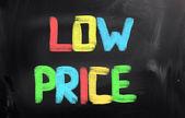 Concepto de precio bajo — Foto de Stock