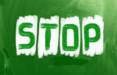 Stop Concept — Stock Photo