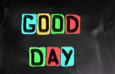 Good Day Concept — Stock Photo
