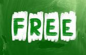 自由的概念 — 图库照片