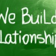 We Build Relationships Concept — Stock Photo #37907317