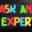 Ask Expert Concept — Stock Photo #37907647