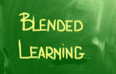 Blended Learning Concept — Stock Photo