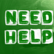Need Help Concept — Stock Photo #38241291