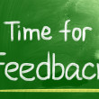 Stock Photo: Time For Feedback Concept