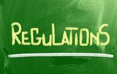 規制の概念 — ストック写真