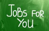 Jobs For You Concept — Stock Photo