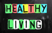 Healthy Living Concept — Stock Photo