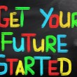 Get Your Future Started Concept — Stock Photo #38647277