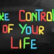 Take Control Of Your Life Concept — Stock Photo #38909959