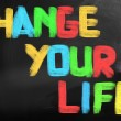 Change Your Life Concept — Stock Photo #38910101
