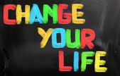 Change Your Life Concept — Stock Photo