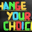 Change Your Choice Concept — Stock Photo #39372251