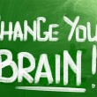 Change Your Brain Concept — Stock Photo #39372301