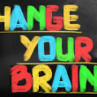 Change Your Brain Concept — Stock Photo #39372305