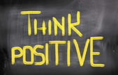 Think Positive Concept — Stock Photo