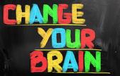 Change Your Brain Concept — Stock Photo
