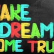 Stock Photo: Make Dream Come True Concept