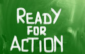 Listo para el concepto de acción — Foto de Stock