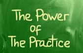 O poder do conceito a prática — Fotografia Stock