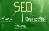 Search Engine Optimization Concept — Stock Photo