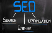 Search Engine Optimization Concept — Stock Photo