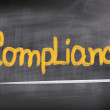 Stock Photo: Compliance Concept