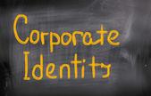 Corporate Identity Concept — Stockfoto