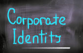 Corporate Identity Concept — Stock Photo