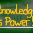 Stock Photo: Knowledge Is Power Concept