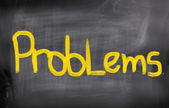 Problem Concept — Stock Photo