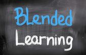Blended Learning Concept — Stok fotoğraf