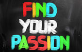 Find Your Passion Concept — Stock Photo