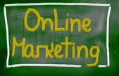 Conceito de marketing online — Foto Stock