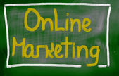 Online-marketing-konzept — Stockfoto