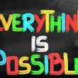 Everything Is Possible Concept — Stock Photo #40898733