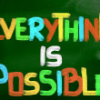 Stock Photo: Everything Is Possible Concept