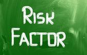 Risk Factor Concept — Stock Photo