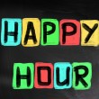 Happy Hour Concept — Stock Photo #41093543