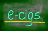 Electronic Cigarette Concept — Stock Photo