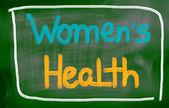 Kvinnors hälsa koncept — Stockfoto